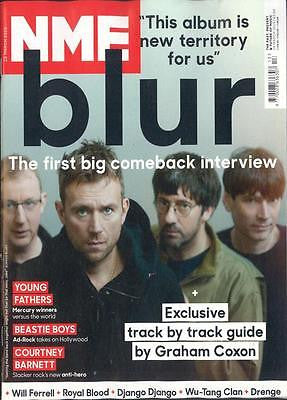 GRAHAM COXON BLUR THE MAGIC WHIP COURTNEY BARNETT NME MAGAZINE MARCH 2015