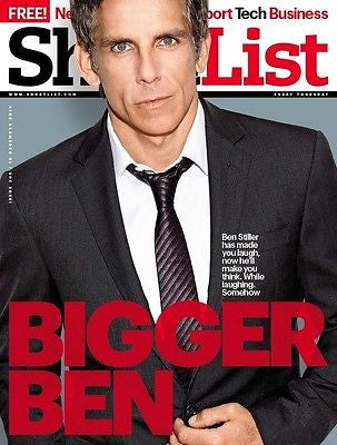 BEN STILLER interview UK 1DAY ISSUE 2013 BENEDICT CUMBERBATCH MICHAEL FASSBENDER