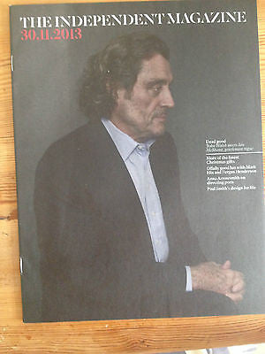 Independent Magazine December 2013 IAN MCSHANE interview Anna Arrowsmith