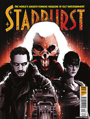 STARBURST MAGAZINE MAY 2015 TOM HARDY MAD MAX FURY ROAD COLLECTOR'S COVER