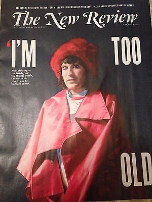 (UK) INDEPENDENT MAGAZINE OCTOBER 2015 NOEL FIELDING MIGHTY BOOSH PHOTO COVER