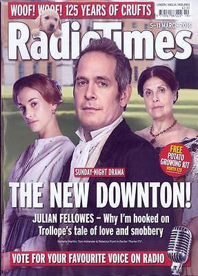Doctor Thorne TOM HOLLANDER Photo Cover UK Radio Times Magazine March 2016 NEW