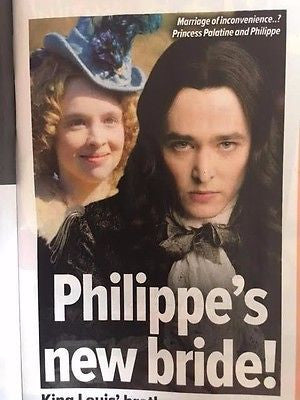 Versailles ALEXANDER VLAHOS PHOTO INTERVIEW What's ON TV April 2017