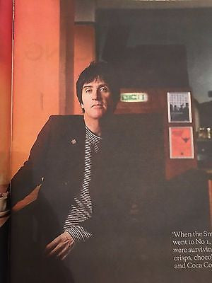 Johnny Marr THE SMITHS Photo Interview UK Observer Food Magazine November 2016