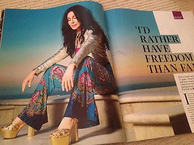 CHER Closer to the truth PHOTO INTERVIEW UK MAGAZINE SEPTEMBER 2013 AI WEIWEI