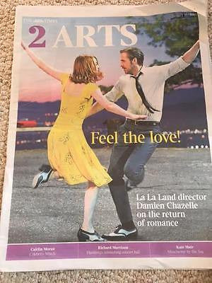 UK Times 2 Arts January 2017 Ryan Gosling Emma Stone La La Land Interview