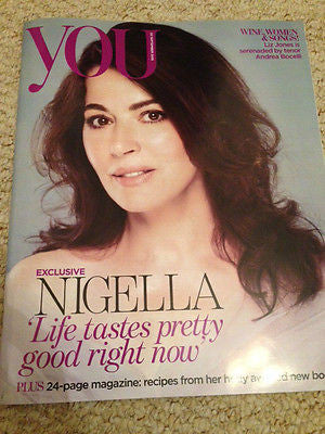 YOU MAGAZINE SEPTEMBER 2015 NIGELLA LAWSON 24-PAGES PHOTO COVER JAIME WINSTONE