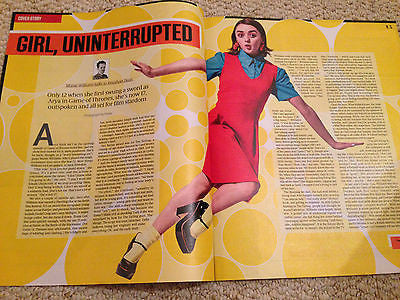 Game of Thrones MAISIE WILLIAMS PHOTO INTERVIEW MAGAZINE 2015 RON SEXSMITH