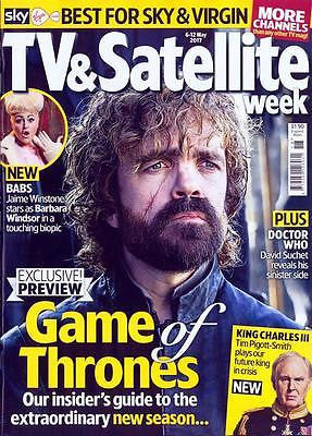 TV & Satellite Magazine May 2017 PETER DINKLAGE David Suchet Tim Pigott-Smith
