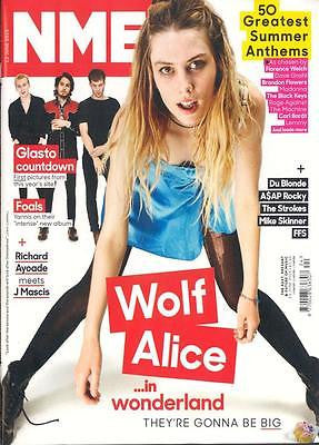 NME Magazine 13th June 2015 WOLF ALICE FOALS MIKE SKINNER FFS THE STROKES