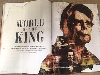 UK Empire Magazine August 2017 Stephen King Adam Driver Rooney Mara