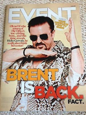 EVENT Magazine AUGUST 2016 RICKY GERVAIS The Office JARED LETO Frederick Forsyth
