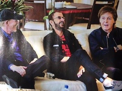 UK FILM Magazine October 2016 Paul McCartney Ringo Starr The Beatles Sam Neill