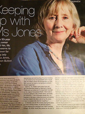 S EXPRESS MAGAZINE NOV 2015 GEMMA JONES BRIAN BLESSED BEN HAENOW BILL BRYSON