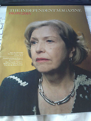 INDEPENDENT MAGAZINE SEPT 2014 ANNE REID LAST TANGO IN HALIFAX THANIDE NEWTON