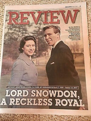 UK Express Review January 2017 Lord Snowdon Princess Margaret