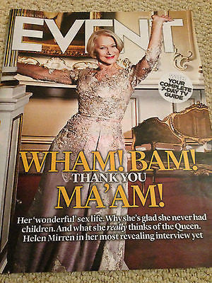 HELEN MIRREN Tansy Davies Paul Weller Lily James EVENT MAGAZINE March 29 2015