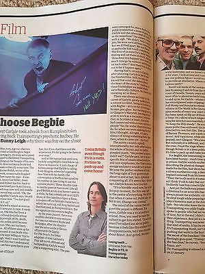 UK Guardian Supplement January 2017 Robert Carlyle Begbie interview