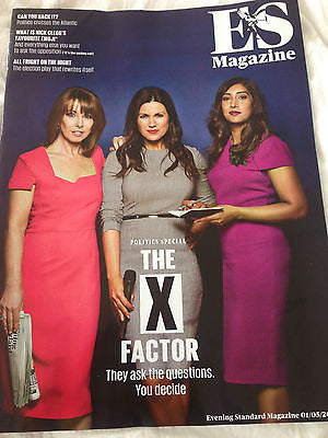 UK ES MAGAZINE - KAY BURLEY SUSANNA REID ROMILLY WEEKS - 1 MAY 2015