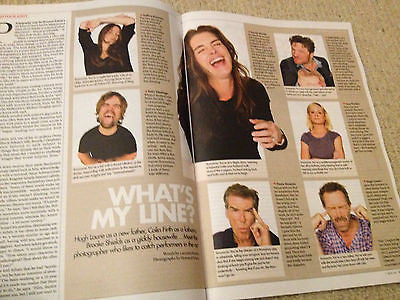 Seven Magazine January2014 COLIN FIRTH Brooke Shields Hugh Laurie Pierce Brosnan