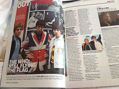 SAGA magazine September 2014 Pete Townshend The Who Helen Mirren Roger Daltrey
