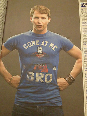 JAMES BLUNT STUNNING PHOTO INTERVIEW APRIL 26 2014