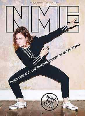 CHRISTINE AND THE QUEENS - Photo Cover Interview NME UK magazine November 2016