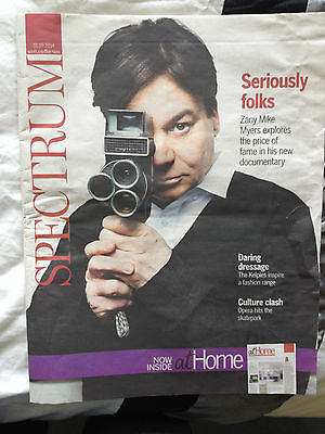 SPECTRUM MAGAZINE JUNE 2014 MIKE MYERS STEPHEN KING MR MERCEDES