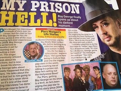 What's ON TV Magazine 11 Feb 2017 Boy George Jonathan Rhys Meyers