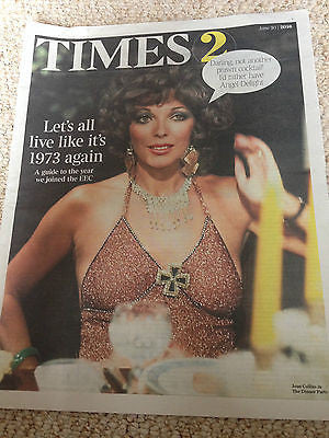 JOAN COLLINS cover 1973 SPECIAL UK BEYONCE 2016