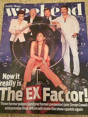 WEEKEND Magazine 8/2016 SHARON OSBOURNE Andrew Scott X FACTOR Nicole Scherzinger