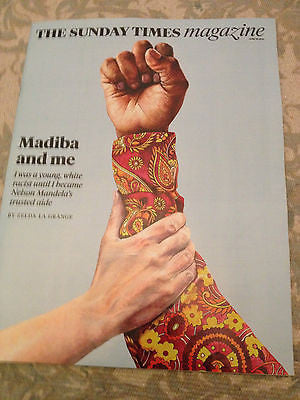 COURTNEY LOVE interview NELSON MANDELA Madiba and me UK Times magazine 2014