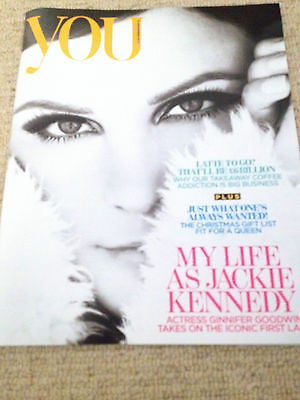 NEW YOU MAGAZINE GINNIFER GOODWIN on Jackie Kennedy KATIE MELUA RUBY JEAN WILSON