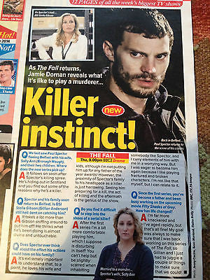 JAMIE DORNAN Alvin Stardust Jill Halfpenny Hayley Mills What's ON TV Mag 2014