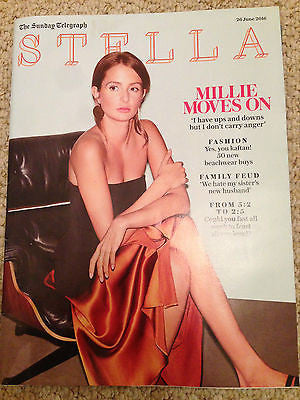 MILLIE MACKINTOSH NEW PHOTO UK COVER STELLA MAGAZINE JUNE 2016