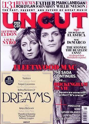 FLEETWOOD MAC Photo Cover Special UK Uncut MAGAZINE May 2017 + Free CD