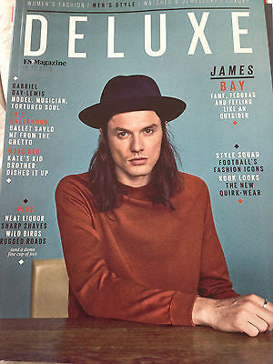 DELUXE MAGAZINE OCTOBER 2015 JAMES BAY PHOTO COVER INTERVIEW ERIC UNDERWOOD