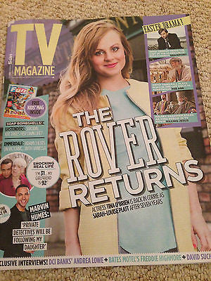 TINA O'BRIEN interview DAVID SUCHET 1DAY ISSUE 2015 FREDDIE HIGHMORE ANDREA LOWE