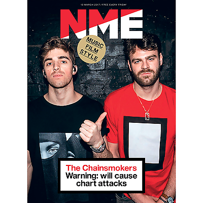 NME - The Chainsmokers Cover And Special - One Day Publication Only