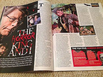 JOE HILL - STEPHEN KING - PAUL McCARTNEY Event UK magazine 15 May 2016