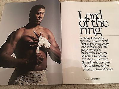 OBSERVER Magazine April 2017 Anthony Joshua Bob Odenkirk Lou Reed
