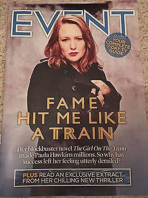 UK Event Magazine April 2017 Paula Hawkins Iggy Pop Blondie Jude Law