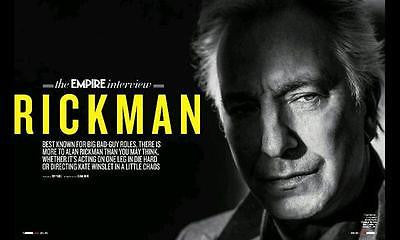Snape ALAN RICKMAN PHOTO INTERVIEW APRIL 2015