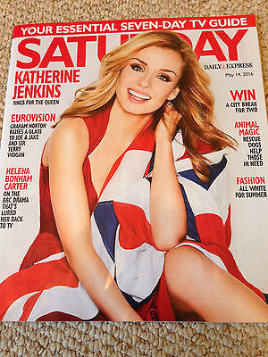 SATURDAY Magazine 5/2016 KATHERINE JENKINS  Camilla Arfwedson BROTHERHOOD OF MAN