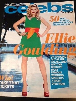 ELLIE GOULDING Celebs UK magazine May 2011