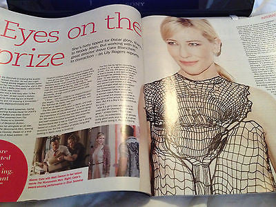 S Express Magazine February 2014 CATE BLANCHETT Andrea Lowe Christopher Timothy