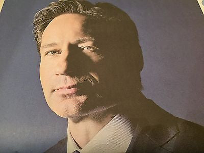 DAVID DUCHOVNY interview THE X FILES UK 1 DAY ISSUE Feb 2016 Mulder and Scully