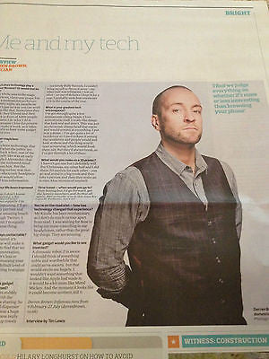 Observer Tech Monthly - 12 January 2014 - Derren Brown Jared Leto