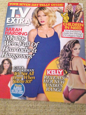 NEW EXTRA MAGAZINE SARAH HARDING GIRLS ALOUD KYLIE MINOGUE TOM DALEY KELLY BROOK