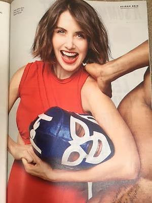 Stylist Magazine June 2017 - Alison Brie UK Photo Cover Interview